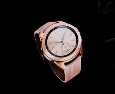 розовый корпус Samsung Watch