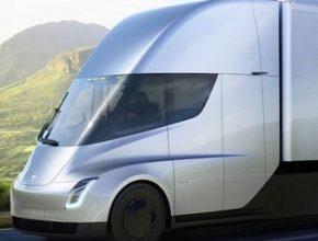 Tesla Semi беспилотная фура
