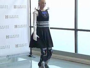 робот женщина софия