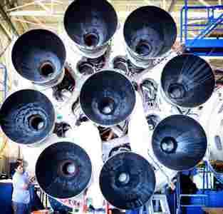 двигатели Falcon Heavy