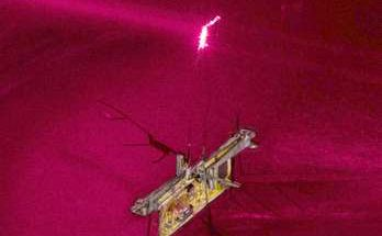 робот насекомое на лазерном луче