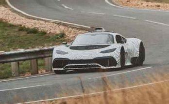 Mercedes-AMG Project One уже тестируется на дорогах