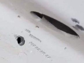 кто просверлил отверстие в космическом корабле