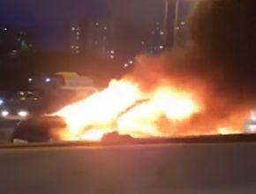 тесла сгорела в Москве