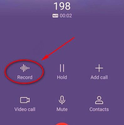 Huawei P30 Pro как включить запись звонков