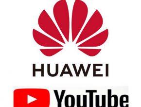 как установить youtube на huawei