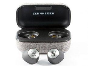 наушники Sennheiser Momentum True Wireless с кейсом