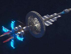 макет космического буксира